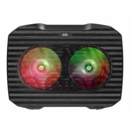Base de Refrigeração Gaming para Portátil Mars Gaming MNBC0 RGB Preto