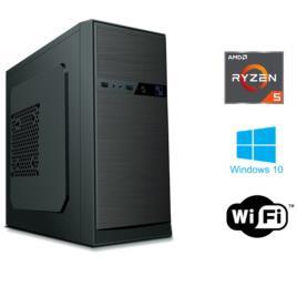 INSYS - INSYS Computador Desktop PowerNet, AMD Ryzen™ 5 3400G, 8 GB RAM, 1 TB SATA, Preto