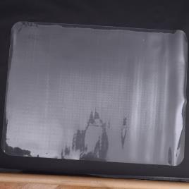 HOMCOM Protetor de Chão PVC Transparente 90x120 cm