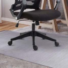 HOMCOM Tapete para Cadeira de PVC Transparente 90x120 cm