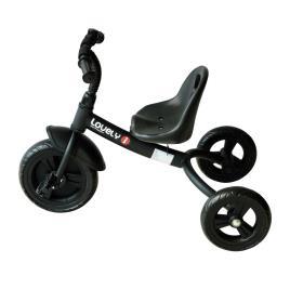 Marca do fabricante - Triciclo para Crianças a partir dos 18 Meses– Cor: Preto– Ferro, Plástico e Tela– 74 x 49 x 55 cm