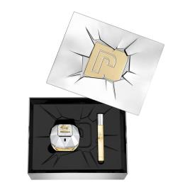 Conjunto de Perfume Mulher Lady Million Lucky Paco Rabanne (2 pcs) (2 pcs)
