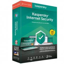 Kaspersky - Software Kaspersky Internet Security 2021 2 User 1 Ano