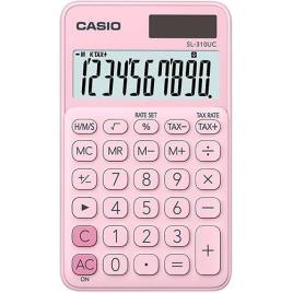 CASIO - Calculadora de Bolso 10 Digitos (Rosa Claro) - CASIO