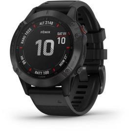 Relógio Desportivo GARMIN Fenix 6 PRO (Bluetooth - Até 14 dias de autonomia - Preto)
