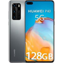 HUAWEI - Smartphone Huawei P40 5G 6,1 Octa Core 8 GB RAM 128 GB - Prateado