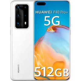 HUAWEI - Smartphone Huawei P40 Pro+ 5G - 512GB - Branco
