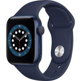 Smartwatch Apple Watch Series 6 GPS 40mm Blue Aluminium Case Deep Navy Sport Band