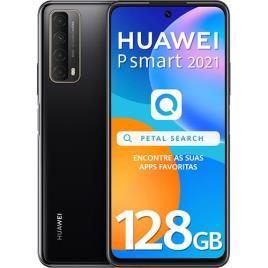 "HUAWEI - HUAWEI Smartphone P smart 2021, 6,67"", Kirin 710A 8-Core, 128 GB ROM, Preto"
