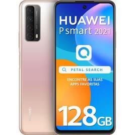 """HUAWEI - HUAWEI Smartphone P smart 2021, 6,67"""", Kirin 710A 8-Core, 128 GB ROM, Dourado"""