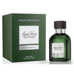 Perfume Homem Agua Fresca Vetiver Adolfo Dominguez EDT - 120 ml