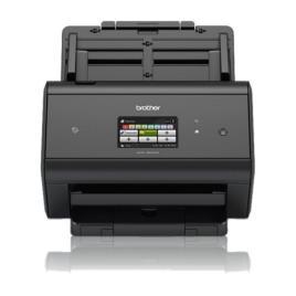 BROTHER - ADS-2800W - Scanner departamental com rede cablada e WiFi, USB 2.0, A4 com uma velocidade de 30ppm (60ipm), alimentador automático de docume