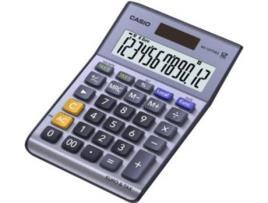 CASIO - Calculadora de Secretária Compacta (12 Digitos) - CASIO
