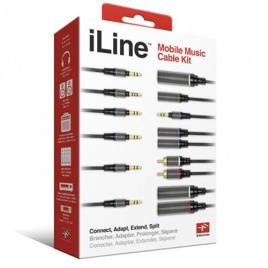 IK MULTIMEDIA - IK Multimedia Cabo iLine Mobile Music Cable Kit