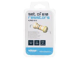 Set Of 610 Resistors (e12-series)