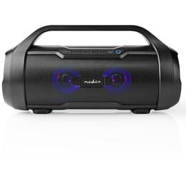 Coluna Bluetooth Nedis Party Boombox 60W - Preto