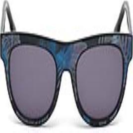 DIESEL - Óculos escuros unissexo Diesel DL0160-92V (Ø 52 mm) Azul Preto (ø 52 mm)
