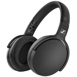 SENNHEISER - SENNHEISER Auscultadores Over-Ear HD 350BT, Bluetooth® 5,0, com Microfone, Preto