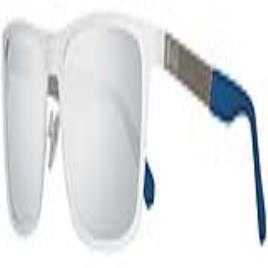 GUESS - Óculos escuros masculinoas Guess GU6842-5721C Branco (ø 57 mm)