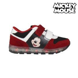 MICKEY MOUSE - Sapatilhas Desportivas com LED Mickey Mouse 73390 Vermelho - 28