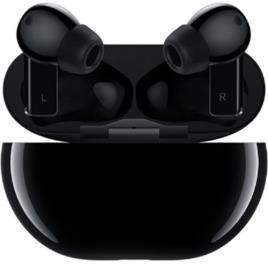 HUAWEI - Auriculares Bluetooth True Wireless Huawei FreeBuds Pro com Cancelamento de Ruído Ativo - Carbon Black