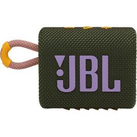 JBL - Coluna Portátil JBL GO 3 - Verde   Cor-de-Rosa