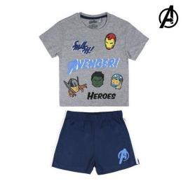 THE AVENGERS - Pijama de Verão The Avengers 73470 3 ano