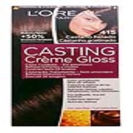 L'OREAL MAKE UP - Tinta Sem Amoníaco Casting Creme Gloss LOreal Make Up Castanho gelado