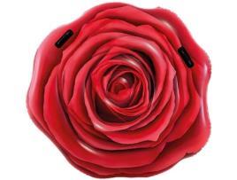 INTEX - Colchão Insuflável Intex Cor de rosa (137 X 132 cm)