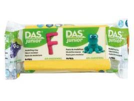 DAS - Plasticina DAS JUNIOR Amarelo 100 g (Idade Mínima: 3 anos)