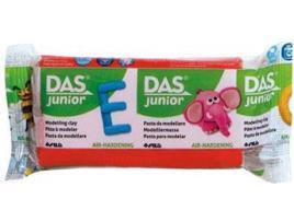 DAS - Plasticina DAS JUNIOR Vermelho 100 g (Idade Mínima: 3 anos)