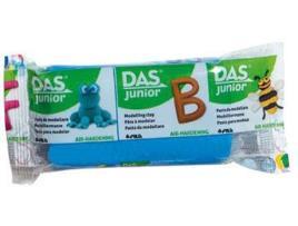 DAS - Plasticina DAS JUNIOR Azul 100 g (Idade Mínima: 3 anos)