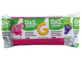 DAS - Plasticina DAS Junior Rosa 100 g (Idade Mínima: 3 anos)
