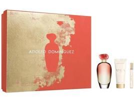 ADOLFO DOMINGUEZ - Conjunto de Perfume Mulher Unica Coral Adolfo Dominguez (3 pcs) (3 pcs)