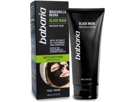 BABARIA - Máscara Negra Detoxifyng Babaria - 100 ml