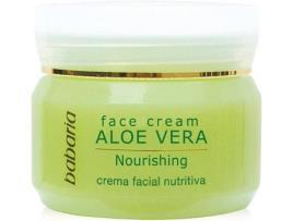 BABARIA - Creme Facial Nutritivo Aloe Vera Babaria (50 ml)