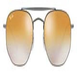 RAY-BAN - Óculos escuros unissexo Ray-Ban RB3648 004/13 (51 mm)