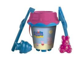 PEPPA PIG - Conjunto de brinquedos de praia Peppa Pig (6 pcs)