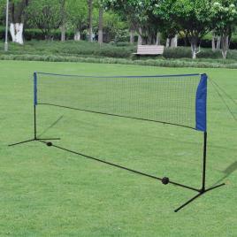 Marca do fabricante - Conjunto rede de badminton com volantes 300 x 155 cm