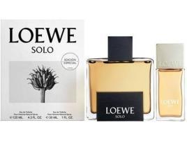 LOEWE - Conjunto de Perfume Homem Solo Loewe (2 pcs) 30 ml + 125 ml (2 pcs)