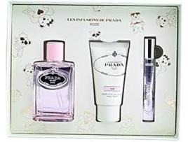 Prada - Conjunto de Perfume Mulher Infusion Rose Prada (3 pcs) (3 pcs)