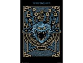 MAGIC - Poster MAGIC Dungeons & Dragons Monster Manual