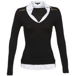 MORGAN - Morgan Camisola-camisa 2 em 1, detalhes com fecho nos ombros