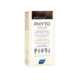 Phyto Color Coloração Permanente 6.77 Marron Claro Cappuccino