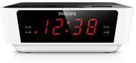 PHILIPS - AJ3115/12 Rádio relógio com sintonização digital
