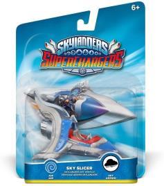 Figura Skylanders Superchargers - Veículo - Sky Slicer