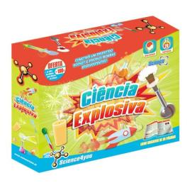 Kit de Ciências SCIENCE4YOU Ciência Explosiva