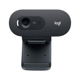 Logitech Câmara Web C505, 720p 30fps, USB, Rotação 360º, Preto