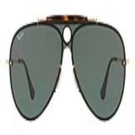 RAY-BAN - Óculos escuros unissexo Ray-Ban RB3581N 001/71 (32 mm)