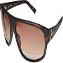 GUESS - Óculos escuros masculinoas Guess GU0130F-61AH1 Castanho Dark Havana (Ø 61 mm)